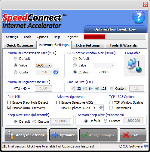 Speedconnect Internet Accelerator 8 Serial number