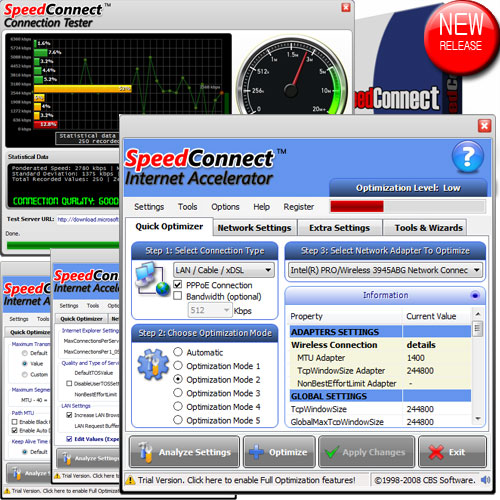 SpeedConnect Internet Accelerator 8.0.0 full